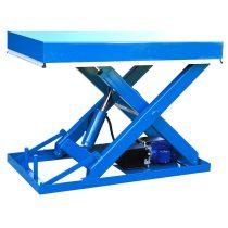 ADG0 ipari emelőasztal 2000 kg teherbírás 1000 mm emelés elektromos emelésű ollósemelő emelő platfo