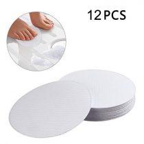 12 db öntapadó vízálló elcsúszás elleni matrica csúszásgátló kádba, zuhanyzóba, lépcsőre. Áttetsző