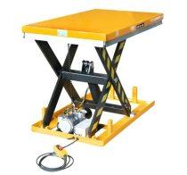 Ollós emelőasztal 400V elektromos kivitel 1000 kg 205-990 mm hidraulikus emelő kocsi fixen telepíthe