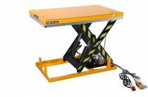 Ollós emelőasztal 400V elektromos kivitel 2000 kg 235-1010 mm hidraulikus emelő kocsi fixen telepíth