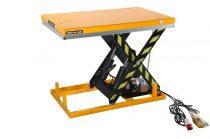Ollós emelőasztal 400V elektromos kivitel 3000 kg 235-1010 mm hidraulikus emelő kocsi fixen telepíth
