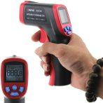 Infravörös hőmérő lézerrel, memóriával. Érintésmentes hőmérséklet mérés.