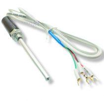 PT100 szilikon 105C homerseklet erzekelo szonda