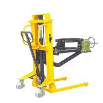 Hordóürítő kéziemelő magasemelő hordóemelő kézitargonca 200 literes fémhordó számára 350 kg teherbír