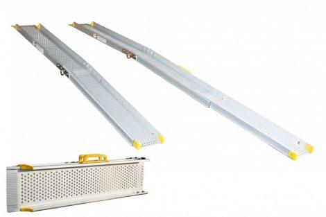 Mobil rámpa 300 cm szétnyitható és még szét is húzható - összetolható rámpa 135 kg/db 270 kg/pár