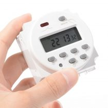 Beépíthető230VV időkapcsoló hálózati időzítő digitális kapcsoló óra 17 heti vagy napi