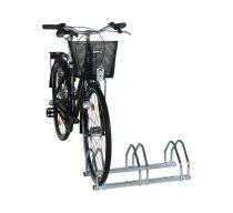 Kerékpártartó állvány kerékpár tároló 3 bicikli számára