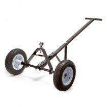 Lakókocsi utánfutó mozgató kiskocsi vonószemmel