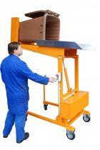 Hulladék tartály üritő szerkezet kukaborító - 12V akkumulátoros meghajtással - 120 és 240 literes hulladékgyűjtő edényhez