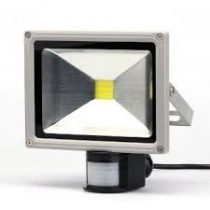 LED mozgásérzékelős lámpa, reflektor 230V , 30W teljesítményű fényvető