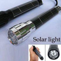 Napelemes zseblámpa 7 LED-el