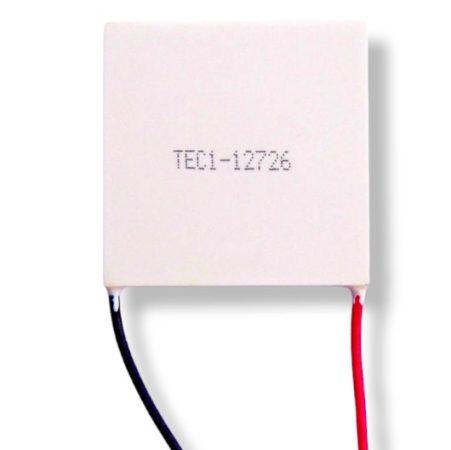 Peltier elem 50x50 mm TEC1-12726  hűtő - fűtő elem
