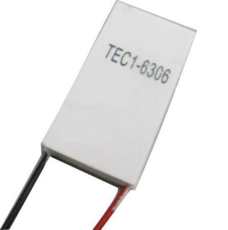 Peltier elem 20x40 mm 6V 30W TEC1-6306 hűtő-fűtő panel