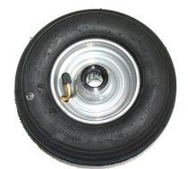 kerék pótkerék molnárkocsi, kézikocsi, kiskocsi 3.00-4 átmérő 260 mm fúvott fém felni