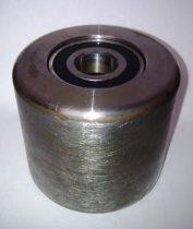 Raklapmozgató görgő 82x70 mm acél