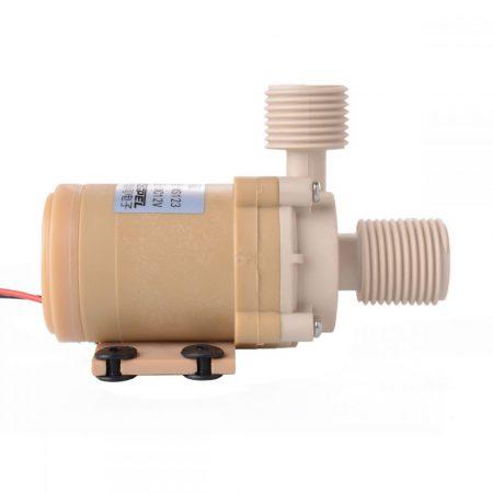 24V 20W 600 l/h nyomásálló napkollektor szivattyú, keringető pumpa 1/2