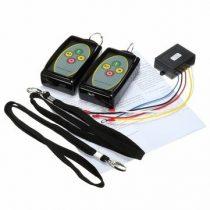 Távirányító készlet 12V 24V csörlő vezérlésre is  434 MHz  2 db kulcstartós távirányítóval. Távvezér