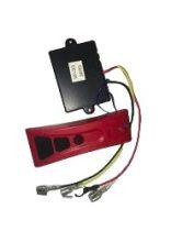 Távirányító készlet 12V csörlő vezérlésre is 433 MHz 1 db vízhatlan távirányítóval. Távvezérlő szet