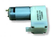 Vákuumszivattyú dugattyús, 12V 74 kPa 0,74 bar vákuumpumpa 1200 mA 6 liter/perc