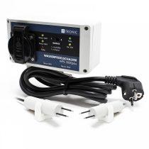 S1000 Vízszint kapcsoló 2 szintjelzővel be és kikapcsolás töltés és ürítés mód 230V 3000W úszókapcso