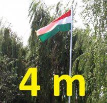 4 méteres zászlótartó és zászlórúd összerakható, akár antenna számára is!