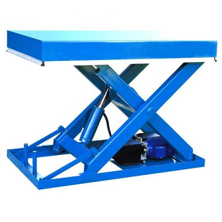 ADG01 ipari emelőasztal 1000 kg teherbírás 1000 mm emelés elektromos emelésű ollósemelő emelő platfo