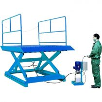 AAL-1 emelőasztal 2700 kg teherbírás elektromos emelésű ollósemelő