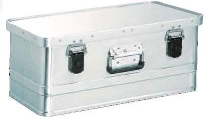 Alumínium doboz, szállítóláda szerszámos láda 40 liter 0,8 mm alumíniumvastagság