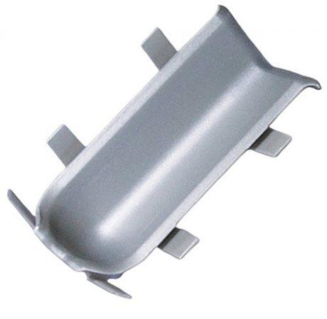 Pezsgő színű padlószegély belső sarok Pezsgő  eloxált szálcsiszolt alumínium ragasztható szegélyhez