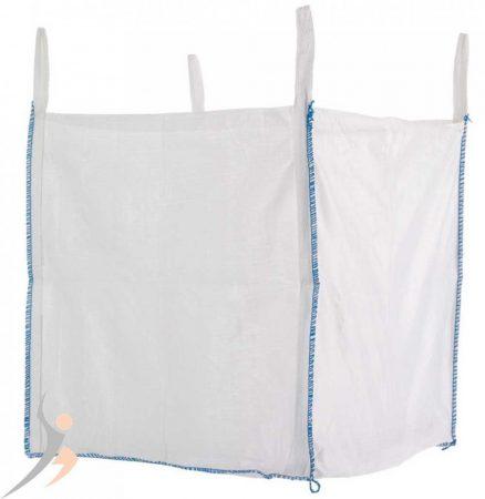 Big Bag zsák 1500 kg 4 füles hevederfüles zsák DIN EN ISO 21898 szerint 90x90x90 cm