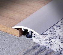 Szintkülönbség kiegyenlítő 90 cm hosszú, 30 mm széles elox. alu. ragasztható