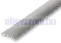 Burkolatváltó profil ajtó küszöb helyett Inox rozsdamentes szálcsiszolt