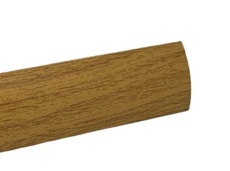 Szintkiegyenlítő profil ajtó küszöb helyett Tölgy 0-6 mm 30 mm széles 270 cm szintkülönbség