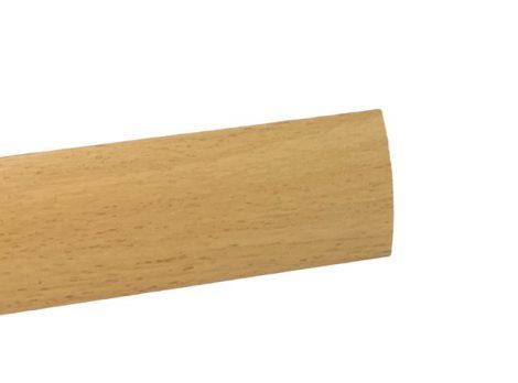 Szintkiegyenlítő profil ajtó küszöb helyett Bükk 0-12 mm 40 mm széles 90 cm szintkülönbség