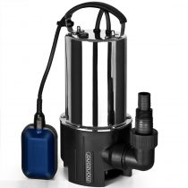 Ipari inox szennyvízszivattyú rozsdamentes búvárszivattyú 650W 11.500 l/h 8m  emelésű
