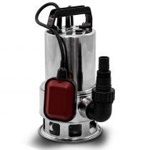 Ipari inox szennyvízszivattyú rozsdamentes búvárszivattyú 550 W 10.500 l/h