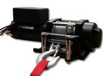Csörlő elektromos vontató motoros drótkötél 12V 1588 kg 3500 lbs vezeték nélküli távirányító