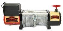 12V 10000 lb/ 4536 kg elektromos csörlő drótkötéllel, vezeték nélküli távirányítóval, MAGAS MINŐSÉG