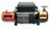 12V 12000 lb/ 5443 kg elektromos csörlő szintetikus kötéllel, vezeték nélküli távirányítóval, MAGAS
