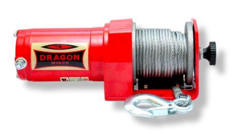 12V 2000 lb/ 907 kg elektromos quad csörlő drótkötéllel, kormányról vezérelhető, eke mozgatásához is