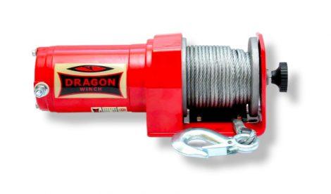 12V 2500 lb/ 1133 kg elektromos quad csörlő drótkötéllel, kormányról vezérelhető