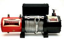 12V 312V 8000 lb/ 3629 kg elektromos csörlő drótkötéllel629 kg csörlő 8000lb