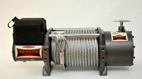 12V vagy 24V 15000 lb/ 6803 kg nagy teherbírású, elektromos csörlő, automento csorlo