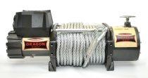 24V 18000 lb/ 8165 kg nagy teherbírású, elektromos csörlő, vezeték nélküli távirányítóval, drótkötél