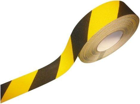 5 cm széles öntapadó csúszágátló szalag, amelyből tetszés szerinti csíkok vághatók