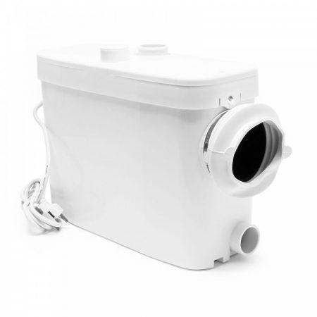 WT450 darálós szennyvíz szivattyú oldalsó keskeny oldali bekötéssel WC zagyszivattyú átemelő pumpa s