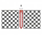 Utólag is lerakható dilatációs profil 8 mm széles burkolás után is 23 35 vagy 48 mm széles szürke sz