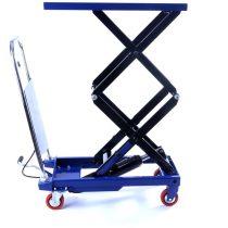 Ollós emelőasztal, kezi szallito, hidraulikus emelo kocsi 150 kg