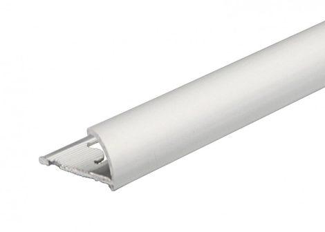 Negyed köríves csempe fém élvédő, válaszható körívű méretben, Al, réz, rozsdamentes acél profil