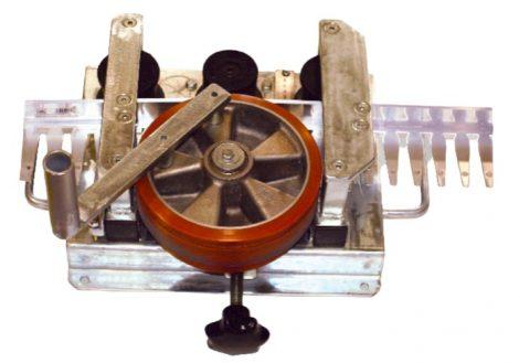 Élvédő profil hajlító gép pl. Flexi Priamy erkély terasz élvédő számára